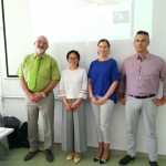 Speakers and organizer from CI Ljubljana