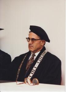 The ceremony of the Faculty of Economics, University of Ljubljana, for awarding diploma certificates to graduates in Lugano, Switzerland