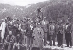 Trade union trip of the employees of the Faculty of Economics, University of Ljubljana, to Vršič in June 1961.