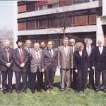 Professors of the Faculty of Economics with the Dean – 1996