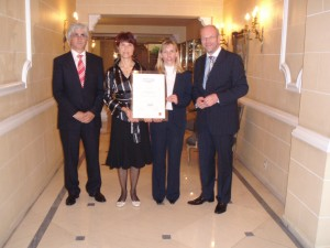 In October 2006, the Faculty of Economics at the University of Ljubljana was awarded EQUIS accreditation. On behalf of the FELU, prof. dr. Maks Tajnikar, dean of the school during the period of EQUIS accreditation, prof. dr. Nevenka Hrovatin, vice dean of international relations, prof. dr. Janez Prašnikar, vice dean of science and research, and prof. dr. Tanja Dmitrović, programme coordinator, received the award – EQUIS accreditation plaque – in Brussels in 2007. Read more >>>