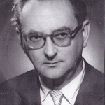 Under the University of Ljubljana Act—Official Gazette of SRS no. 23/57, i.e., from the autumn of 1957 onwards—the Faculty of Economics again became an independent legal entity, separate from the Faculty of Law. In the picture: the Dean of the Faculty of Economics in the 1957/1958 academic year, Prof. Dolfe Vogelnik, PhD, who was also the Rector of the University of Ljubljana between 1958 and 1961 and its Vice-Rector between 1961 and 1964.