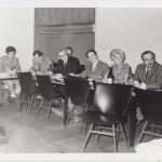 Teaching staff meeting