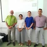 Predavatelji in organizatorka iz Konfucijevega inštituta